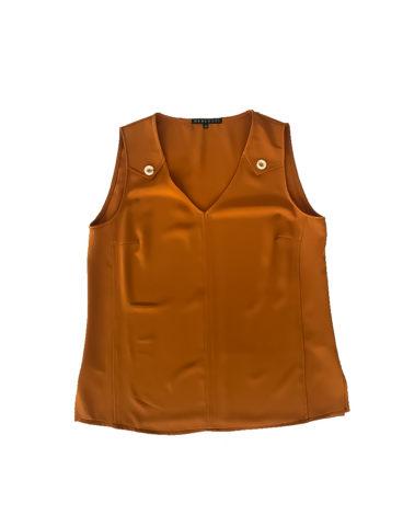 1.01.05.ME001 Blusa verano fresca mostaza conjunto talla grande