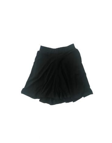 14.16.1.SC021 Short negro largo fino fresco conjunto verão