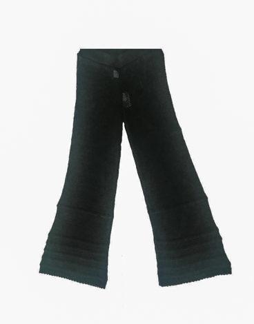 3.12.01.TH012 - Pantalon punto negro conjunto negro pantalon playa verano negro fresco