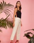 Pantalon lino botones 1