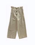 Pantalon lino botones 3