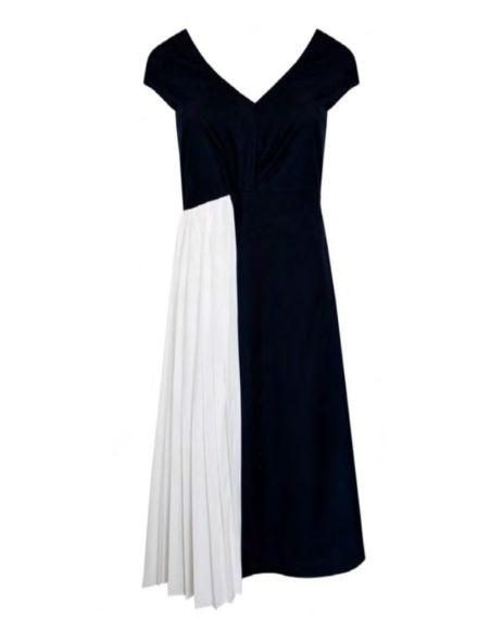 Vestido-Bicolor-Azul-e-Branco
