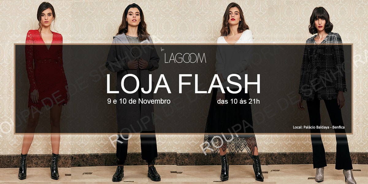 Lagoom Showroom e Loja Flash
