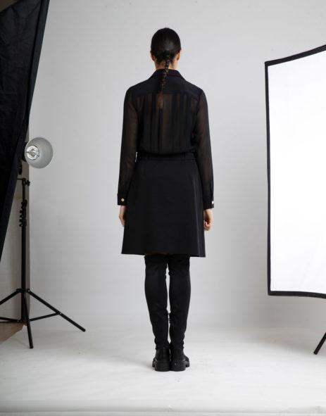 Vestido preto costas transparentes1