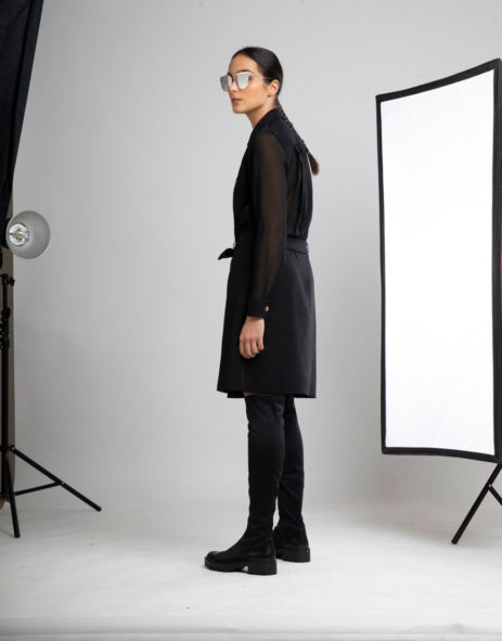 Vestido preto costas transparentes3