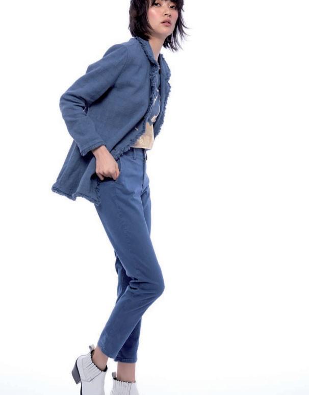 Pantalon-azul