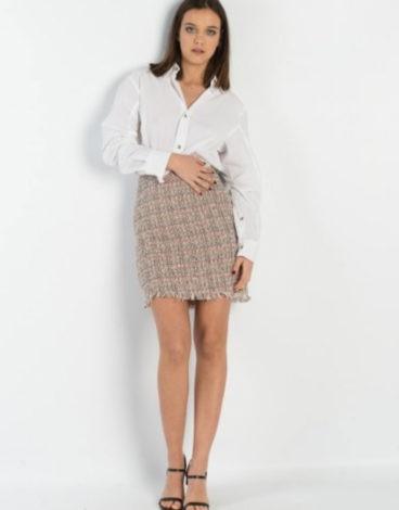 Falda-tweed