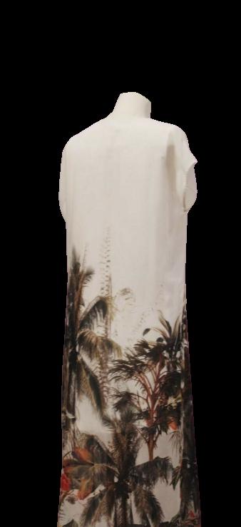 Túnica Vestido Chifon Estampado